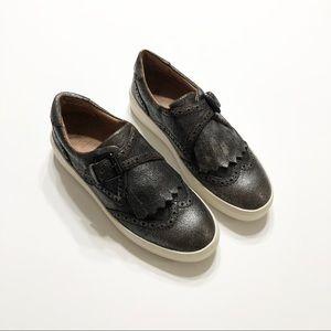 🆕 FRYE BREA Metallic Sneakers • Sz 6.5M • NEW!!